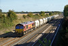 8th Oct 08:  66024 in charge of 6B35 from Hayes to Moreton on Lugg