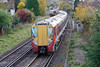 27th Oct 08:  458026 slows for the Egham stop with the 13.09 from Reading