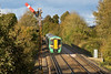 28th Oct 08:  With the box switched in 377160 departs from Amberley