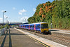 8th Oct 08:  166212 departs Twyford as the Autumn colours start to show.