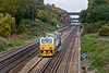 14th Oct 08:  Treating the fast lines is DR 98977 & 98927, Captured here at Totters Lane near Winchfield
