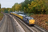 14th Oct 08: 37038 heads 1Q14 from Derby to Bournemouth via Weymouth through Pirbright