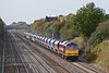 24th Oct 08:  60010 powers the Whatley to St Pancras towards Maidenhead