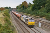 25th Sep 08:  60028 working 6B33 from Theale to Robeston empty Murco tankls