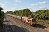 29th Sep 08:  67028 brings the 12.07 Bristol Temple Meads to Old Oak Common  empty stock working through Shottesbrooke