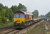 22ns Sep 08:  The afternoon Eastleigh to Hinksey depertmental in the hands of 66057