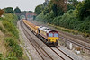 25th Sep 08: A good load today for 66021 on the afternoon Eastleigh to Hinksey departmental
