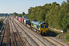 26th Sep 08:  The Southampton to Ditton (4M58) with 66537