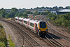 20th Sep 08: 220029 for Birmingham New Street at Didcot North Junction