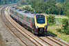 18th Sep 08: Voyager 211133 cruises along the relief at Lower Basildon