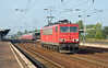 11th Sep 08:  155 068-0 heads east towards Berlin
