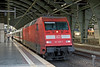 11th Sep 08: 101 109-7 waits at Ostbahnhof station with an express to Munster