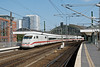 11th Sept 08:  The classic view at Ostbahnhof as 401 512-9 waits to depart