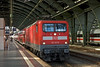 11th Sep 08:  112 123-5 with an Express to Frankfurt (Oder) at Ostbahnhof