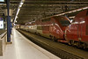 7th Sep 08:  At 23.10 Thalys sets 4540 & 4321 wait their next duty at Brussels Midi station