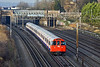 1st Dec 09:  Bakerloo set 3232 bound for Elephant & Castle nears South Kenton