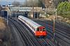 1st Dec 09:  Bakerloo set 3232 bound for Elephant & Castle nears South Kenton