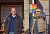 1st Dec 09: Mark B & Chris N off to the pub