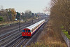 1st Dec 09:  Bakerloo service 221 to Harrow and Wealdstone is travelling away from the South Kenton stop