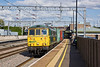 20th Aug 09:  86501 powers 4M88 from Felixstow to Crewe through Tamworth Low Level