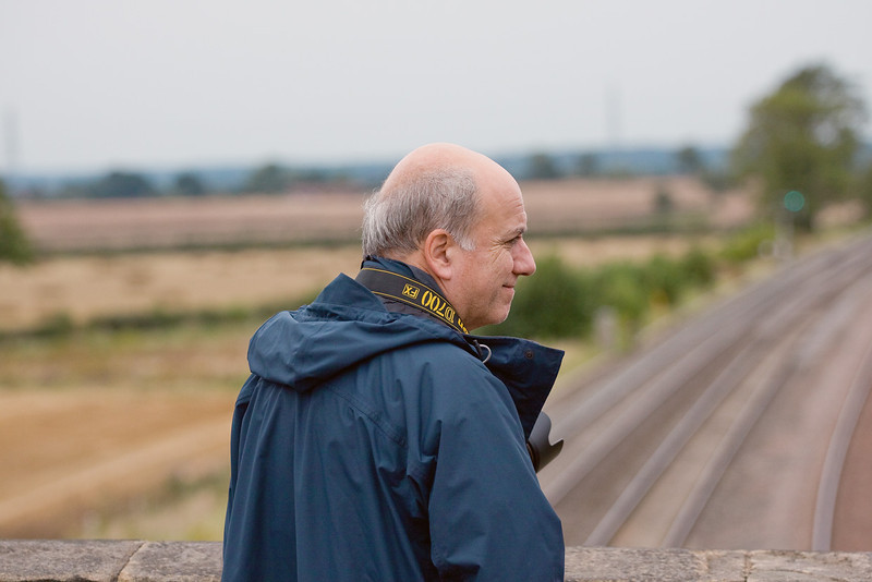 20th Aug 09: Richard Lewis looking contented at Elford