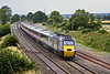 20th Aug 09:  Cross Country's 43303 hurries South through Elford
