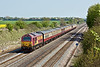 20th Apr 09: 67030 heads 5Z61 ECS from Wembley to Eastleigh