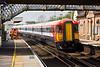 15th Apr 09:  Gatwick Express units 442421 & 410 run East though Glynde on a test run
