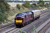 29th Aug 09:  37706 trundles west through Shottesbrook working 5Z37 from Southall to Tyseley.