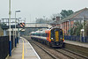 16th Dec 09:  159017 starts away from Whitchurch.  1L23 left Waterloo at 09.50 for the journey to Salisbury