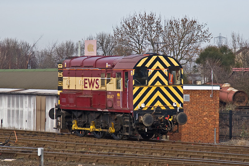 4th Feb 09:  08567 at Didcot