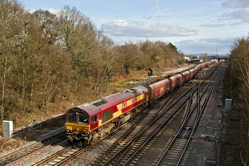 20th Feb 09:   66096 departs from Didcot working 4D12 back to Avonmouth