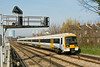 18th Mar 09:  South Eastern's 465907 forms the 12.51 from Victoria to Orpington (2M46)  and is captured here running through Wandsworth Road