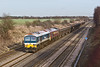 20th Jan 09:  59103 with 59205 DIT powers 6Z71 the empties from BOW Olympic to Merehead through Shottesbrooke