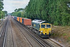 20th Jul 09:  66562 plies 4M58 from Southampton to Crewe Basford Hall through Old Basing