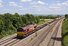 4th Jun 09:  4M66 Intermodal from Southampton to Biirch Coppice with 66144 on the point at Sands Road, South Moreton