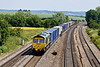 4th Jun 09:  66558 heads 4M61 from Southampton to Trafford Park at South Moreton