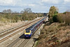 4th Mar 09:  The 13.48 to Cheltenham (1G38) races towards Twyford-Southbury Lane