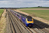 2nd Mar 09:   Power car 43185 leads on 1A19 the 13.30 from Bristol Temple Meads seen here passing Manor Farm at Cholsey