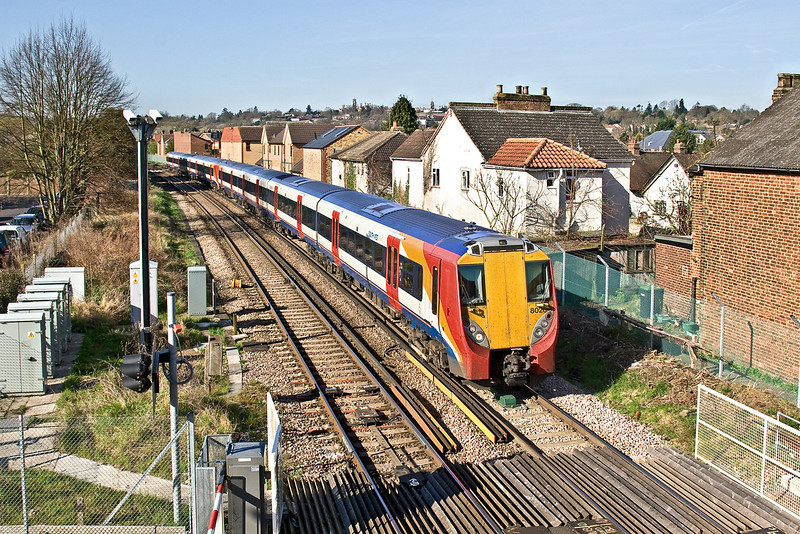 30th Mar 09:  Arriving at Egham is 2C24 the 09.12 from Reading to Waterloo