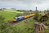 7th May 09:  66623 'Bill Bolsover' hurries south with 6U68 from Carlisle to Mountsorrel. The location is Beck Houses