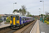24th Apr 09: 153351 forms part of 2C36 from Leeds to Knaresborough.  Here standing at Pannal