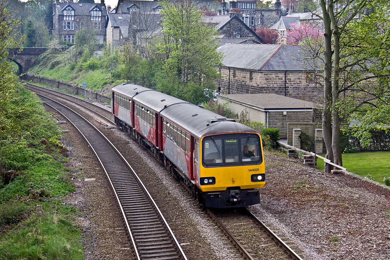 25th Apr 09: 144021 returns now heading for Knaresborough