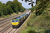 10th Sep 09:  4O54 the 06.13 from Leeds to Southampton at Spring Farm nr Goring.  66567 leads with 66956 DIT
