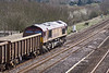 6th Apr 10:  66037 and the Appleford to Bow empty spoil boxes at Lower Basildon