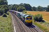 9th Aug 10:  4M61 from Southampton to Trafford Park with 66594 on the point passes through Silchester