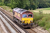 18th Aug 10:  With no traffic 66058 returns to Hoo Junction as 0Y41. Captured here at Totters Lane