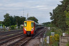 5th Aug 10:  Waiting at Brookwood for Black 5  44932   it was a surprise to see Juniper 8023 running down the SW Main Line