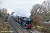 7th Dec 10:  44932 at Pooley Green with 1Z32 the Cathedrals Express to Yeovil from Victoria