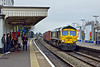 23rd Jan 10:   66588 is in charge of 4O29 the 08.14 from Crewe Basford Hall to Southampton at Langley, Bucks
